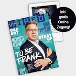 4 Ausgaben WIRED + Online Zugang für nur 27€ inkl. 25€ Amazon Gutschein