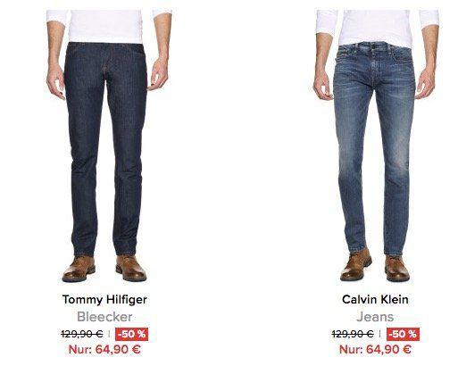 Alle Jeans mit 50% Rabatt + 10% Gutschein + VSK frei bei dress for less