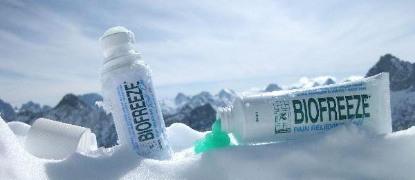 Bis zu 2 Proben Biofreeze Schmerzgel gratis