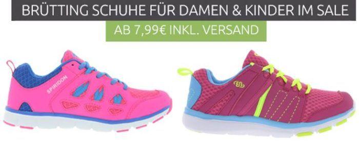 Brünting Sneaker  für Kids (7,99€) und Damen (9,99€)