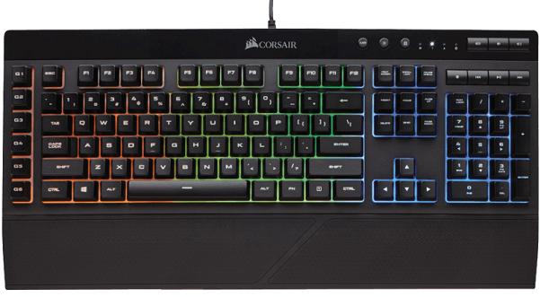 Corsair K55 RGB   beleuchtete Gaming Tastatur für 44€ (statt 56€)