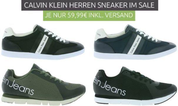 Calvin Klein ACE Heavy Herren Echtleder Sneaker für 59,99€
