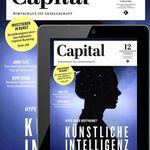 Capital Print + Digital Jahresabo für 111,96€ inkl. 85€ Amazon Gutschein