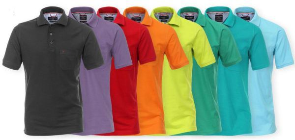 CASAMODA Herren Polos Shirts für je 13,95€