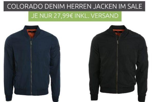 COLORADO DENIM Ludo Herren Jacken bis 3XL statt 50€ für 27,99€
