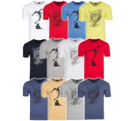 Men collection Dragon & Dragon Fly   Herren T Shirts statt 18€ für je nur 4,99€