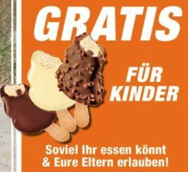 Kostenloses Eis für eure Kinder   vom 02.08.   10.08. bei Expert