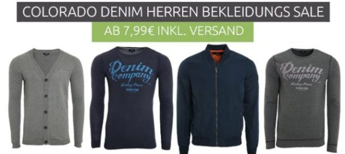 Colorado Denim Herren Fashion Sale ab 7,99€