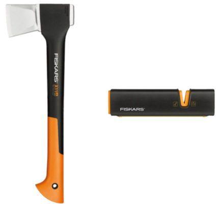 Fiskars Spaltaxt X11 S + Xsharp Axt  und Messerschärfer für 39,99€