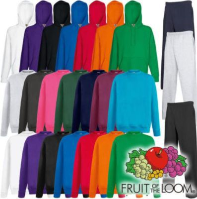 Fruit of the Loom Lightweight Hoody oder Sweater oder Jogginghose für je 8,88€