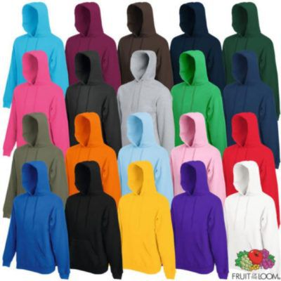 Fruit of the Loom Unisex Hoodies für je 7,99€