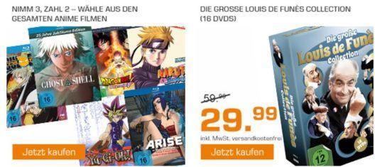 Saturn Weekend Sale: u.a.  Louis de Funes Collection   (DVD) für 29,99€