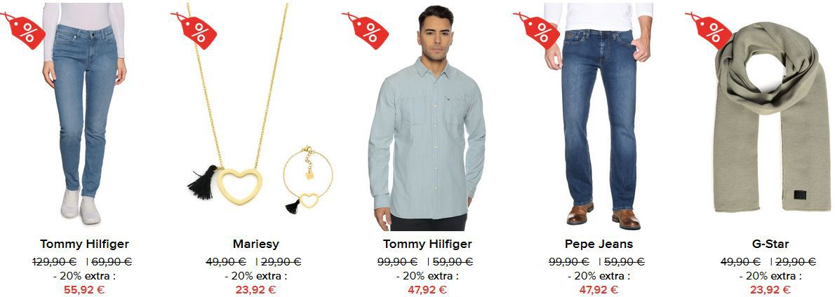 Dress for Less   Weekend Sale mit 15% Extra Rabatt auf alles   Tommy Hilfiger Pullover mit Seidenanteil ab 50,12€