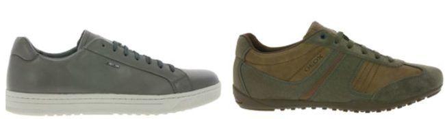 GEOX Schuh Sale: z.B. GEOX U RAVEX B Herren Echtleder Sneaker für 39,99€   Damen Pumps ab 29,99€