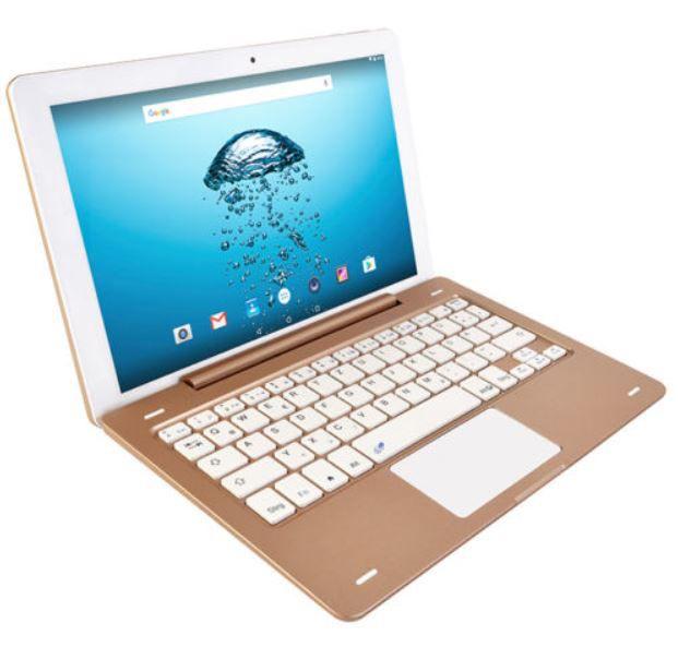 NINETEC Platinum 10 G3   10 Zoll Android Tablet mit Tastatur für 149,99€
