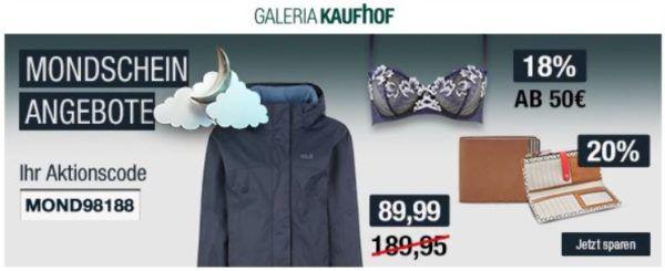 Galeria kaufhof jack wolfskin jacken