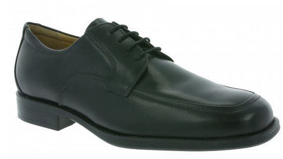 Geox Respira U Federico Y Herren Derby Echtleder Business Schuh für 39,99€