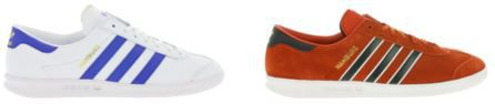 adidas Hamburg   Herren Echtleder Sneaker für je 49,99€ (statt 79€)