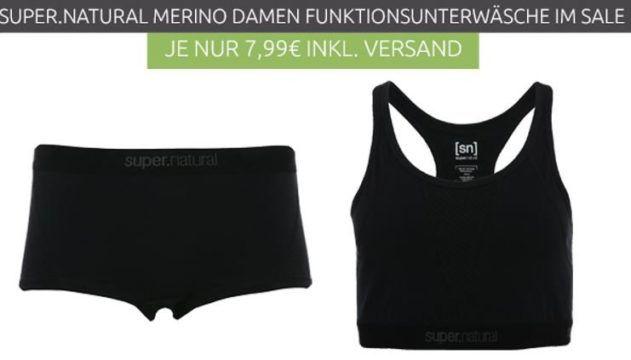super.natural W Pimalon   Damen Hipster und Sport BHs statt 18€ für je 7,99€