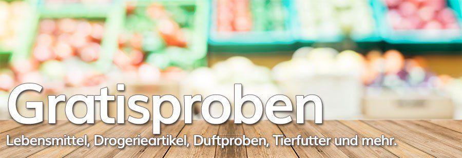 Die neusten Gratisproben / Produktproben kostenlos | September 2019