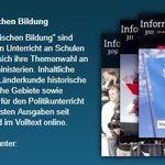 """Kostenloses Abo der """"Informationen zur politischen Bildung"""""""