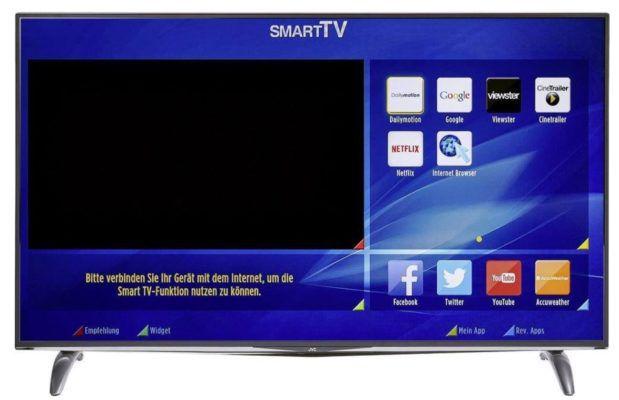 JVC LT 55V77JU   55 Zoll UHD 4K SMART TV für 549€