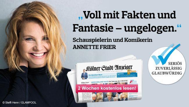 Kölner Stadt Anzeiger 2 Wochen kostenlos testen   endet automatisch