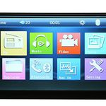 Universelles 7″ Touchscreen-Radio mit MP5, MP3, Bluetooth, USB-Port, SD-Slot & mehr für ~36,20€