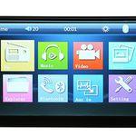 Universelles 7″ Touchscreen-Radio mit MP4, MP3, Bluetooth, USB-Port, SD-Slot inkl. Rückfahrkamera für 51,52€