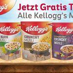 Kellogs Müsli gratis testen dank Geld zurück Garantie