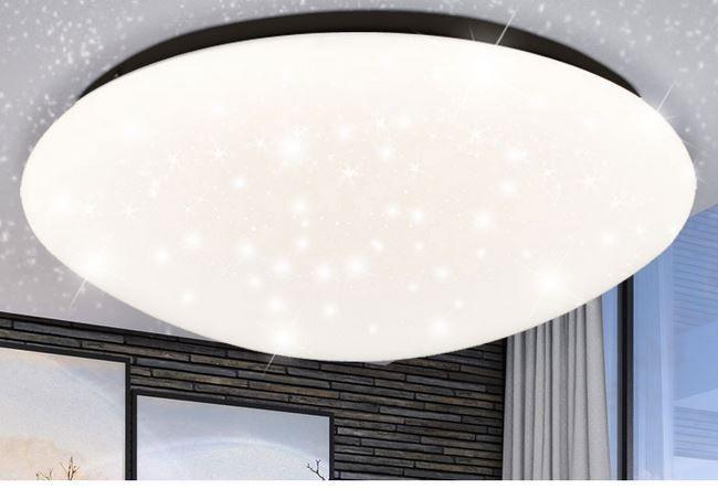 NoName LED Deckenlampe div. Ausführungen mit Sternenhimmel Optik für je 16,90€