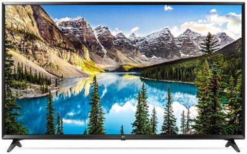 LG 65UJ6309   65 Zoll UHD Fernseher mit Triple Tuner für 749€ (statt 1.206€)