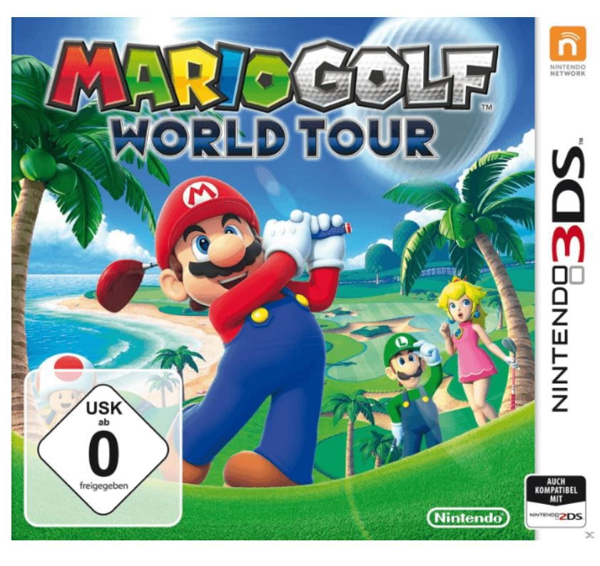 Saturn Weekend Sale: u.a. 5Blu rays für 25€   Mario Golf World Tour 3DS für 14,99€