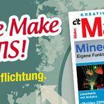 """1 Ausgabe """"Make"""" gratis – endet automatisch"""