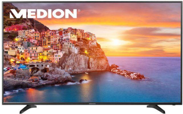 MEDION LIFE P18100   55 Zoll UHD Smart TV mit WLAN statt 529€ für 429€