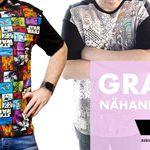 Schnittmuster für Herrenshirt gratis + Gutschein on top