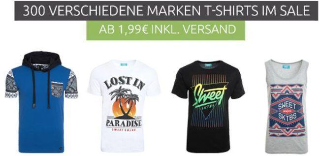 Neuer Herren T Shirt Sale mit Adidas, Jack & Jones, Levis & Co. ab 1,99€