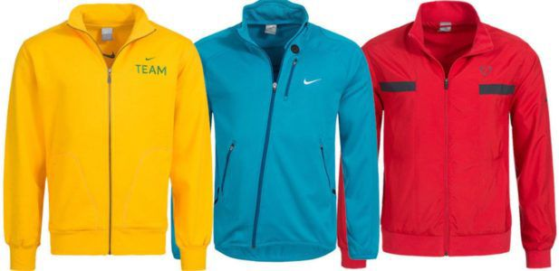 Nike Herren Logo Trainings Jacken für je 19,99€