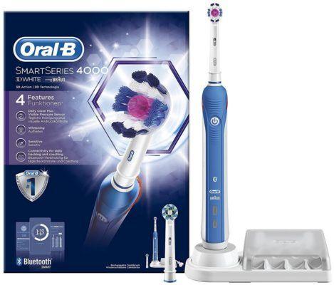 Oral B SmartSeries 4000 elektrische Zahnbürste mit Bluetooth für 57€