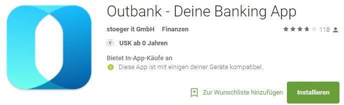 Nur für Telekom Kunden: 1 Jahr Outbank Pro für Android gratis (Wert: 59,99€)
