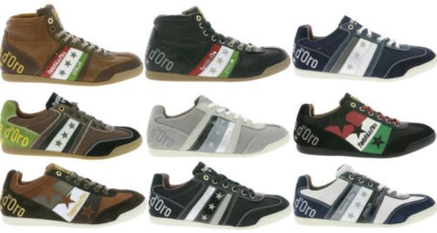 Pantofola DOro Spotelo, Ascoli Piceno Herren Leder Suede Sneaker für 54,99€
