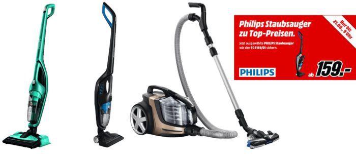 Media Markt: Philips Staubsauger Aktion   z.B. PHILIPS FC9922/09 PowerPro Ultimate statt 307€ für 269€