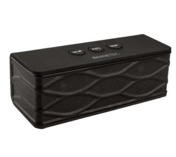 NINETEC POWERBLASTER 2in1 mobiler Speaker + Powerbank für 19,99€