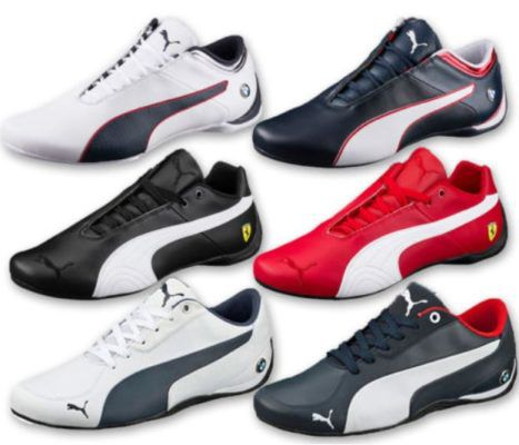 Puma BMW u. Ferrari Drift   Herren Leder Sneaker für 49,99€