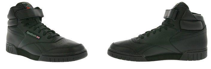Reebok Ex O Fit Hi   schwarzer Herren Sneaker für 39,99€