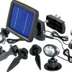 Renkforce Trio SP303K – LED Solar Spot für 19,99€