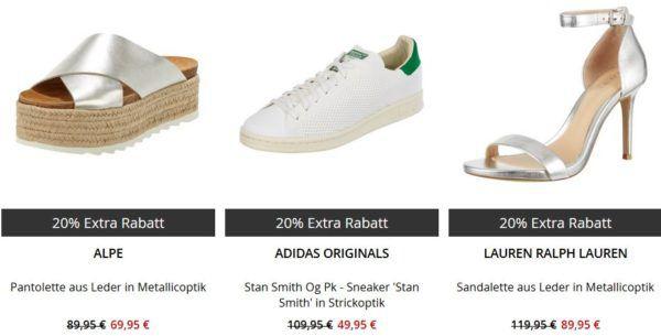 Peek & Cloppenburg* Final Sale mit 70% Rabatt + 20% Extra Rabatt auf alle Schuhe im Sale! TOP