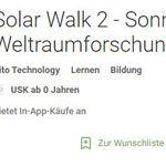Solar Walk 2 (Android) kostenlos statt 2,99€