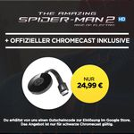 Google Chromecast 2 + HD Stream: The Amazing Spider-Man 2 für 24,99€