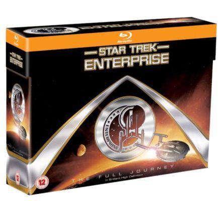 Star Trek: Enterprise: The Full Journey  Blu ray Box (24Discs) statt 67€ für 35,18€
